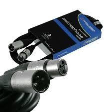 <b>American Dj</b> AC-PRO-XMXF/3 <b>шнур микрофонный</b> XLR/XLR, 3м