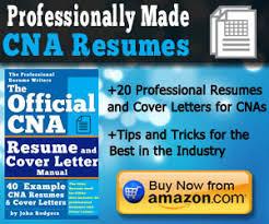 How To Write A Cna Cover Letter Cna Exam Cram
