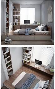 raised floor bed. Delighful Bed Studio Loft Raised Floor Bedroom Inside Raised Floor Bed Pinterest