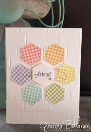 Birthday Card Sample Inspiration 48 Best CardsHexagonsMany PTI Images On Pinterest Hexagon
