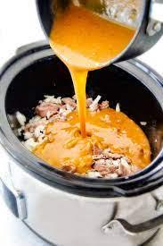 creamy slow cooker beef stroganoff