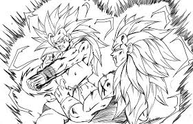 Small Picture Goku coloring pages vs vegeta ColoringStar