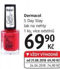 Dermacol 5 Day Stay Lak Na Nehty
