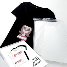 how to use the iron to transfer our transfer paper on the t shirt in addition we still need a set of inkjet printer
