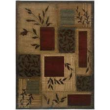 veneer beige multi 10 ft x 13 ft area rug