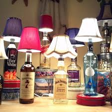 How To Decorate Empty Liquor Bottles 100 DIY Bottle Light Ideas Liquor bottles Liquor and Men cave 5