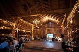 barn wedding lighting. barn wedding with chandelier lighting rustic chic