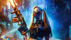 Cyber Girl Wallpapers - Top Free Cyber ...