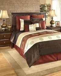 brown king bedding brown king size duvet covers oversized king size bedding 126x120 milano russett king bedding set q175007k ashley furniture brown
