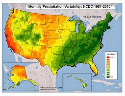 California Annual Rainfall Chart Brian Bs Climate Blog Intra Annual Climate Variability