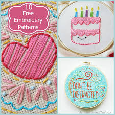 Embroidery Patterns Free Gorgeous 48 Beautiful And Free Embroidery Patterns