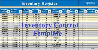 Excel Templates For Inventory Stunning Download Inventory Control Excel Template ExcelDataPro
