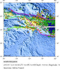 Maps Of Earthquake And Aftershocks In Haiti Universe Today
