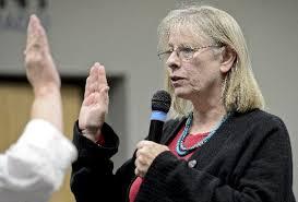 New Longmont councilwoman Christensen reprimanded Abbondanza over Baum sign  – Longmont Times-Call