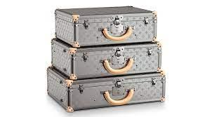 Louis Vuitton Monogram Titane luggage ...