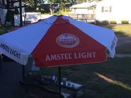 amstel light patio umbrella brand new in box large 7 foot bud light patio umbrella