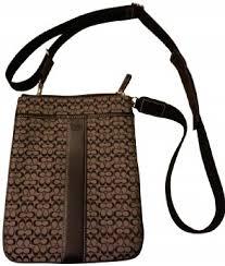 Coach Signature Swingpack Cross Body Bag ...