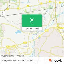How to get to Gang Haji Amsar Haji Amit in Kota Tangerang by Bus ...