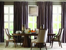 orange upholstered dining room chairs. furniture: black curtain closed glass window for upholstered dining chairs with square chandelier above orange room i