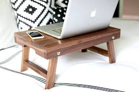 foldable wooden lap desk