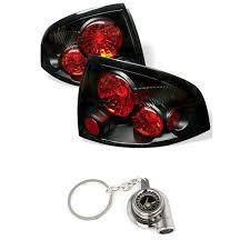 Nissan Key Light Amazon Com Nissan Sentra Euro Style Tail Lights Black