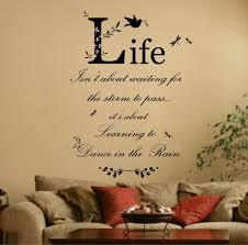 Wall Writing Decor Living Room Wall Art Writing Yes Yes Go