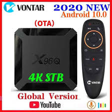 Vontar X96Q Android 10 Smart TV BOX Android 10.0 Allwinner H313 TVBOX Media  Player Quad Core Wifi Youtube Update From X96 Mini|Set-top Boxes