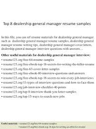 Sales Manager Objective Statement Automotive General Sales Manager Sample Resume Podarki Co