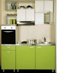 contemporary kitchen design for small spaces. Beautiful Kitchen Contemporary Small Kitchen With Stainless Steel Appliances Contemporary  Cabinets In White And Bright Green Colors Throughout Kitchen Design For Small Spaces D