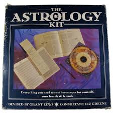 Star Chart Book Vintage Astrology Kit With Books Charts Star Wheel