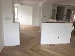solid hardwood floors in a custom design