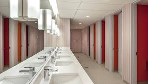 office toilet design. Marvelous An Example Of Gender Inclusive Bathrooms At Congregation In New York City Elegant Office Modern Toilet Design L