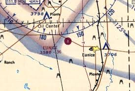 New Mexico Sectional Chart Abandoned Little Known Airfields Southeastern New Mexico