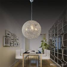 attractive crystal ball chandelier lighting fixture led crystal ball lighting crystal pendant lights minimalist living