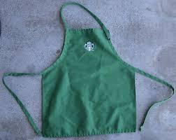 STARBUCKS GREEN APRON - Used - Barista Uniform 2020 - $18.75 | PicClick