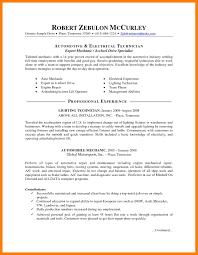 9 Auto Technician Resume Mla Cover Page
