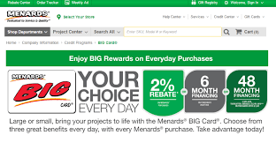 hrsaccount menards big card payment mycheckweb