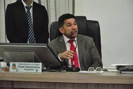 Resultado de imagem para PRESIDENTE DA CAMARA DE SOBRAL PAULO VASCONCELOS