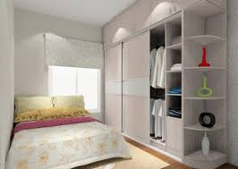 simple interior design for small master bedroom with wardrobe
