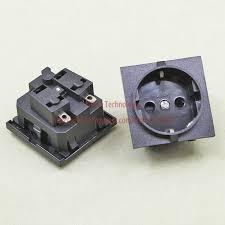 popular european receptacle buy cheap european receptacle lots 5pieces lot e 08 european ac power socket 16a 250v korea wiring receptacle