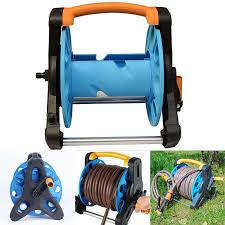 details about gardening hose reel stand water pipe storage rack cart for 35m 1 2 inch hose