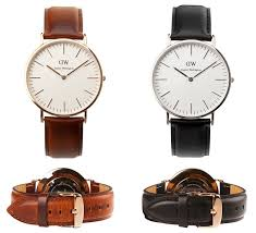 daniel wellington dwleather