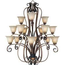 fremont 15 light platinum dusk chandelier
