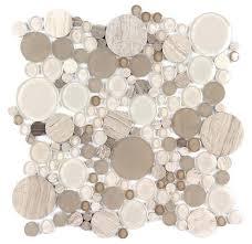 glass bubble tile circle mosaic tile design ideas glass bubble wall tiles glass bubble tile