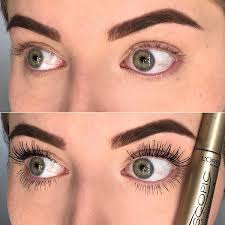 mascara before after pictures are back