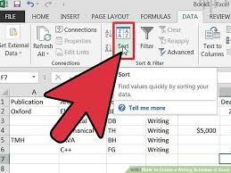 How To Create A Writing Schedule In Excel 7 Steps With