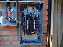 residential electric breaker box ruiz electric llc how to wire a breaker box diagrams at Breaker Box Wiring