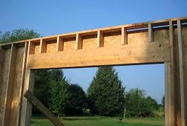 brilliant 10 foot garage door header intended exterior headers full size of pole barn