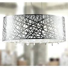 high gloss modern 6 light chrome finish oval drum shade with clear crystal chandelier extraordinary cassiel large oval crystal chandelier