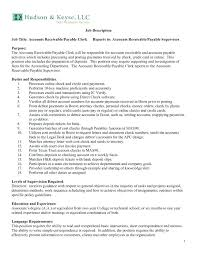 Sample Resume Of Accounting Clerk Sample Resume Accounting Clerk